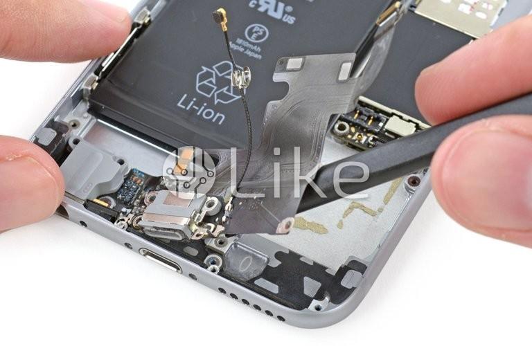 замена гнезда в айфон 5